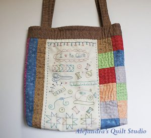 How to make a Patchwork tote bag