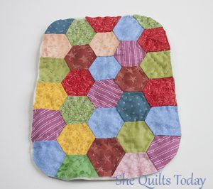 How to make a quilted pouch
