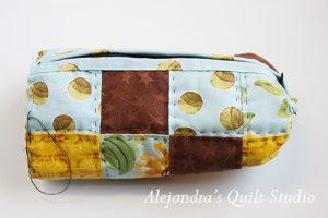 how to make a patchwork bag