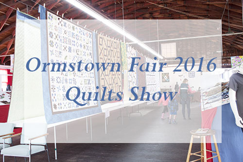 Ormstown Fair Quilt Show