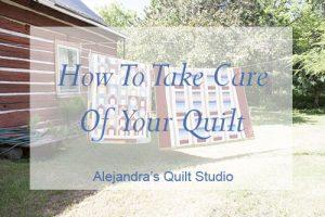 quilt care