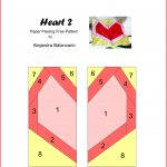 Paper Piecing Free Pattern Heart