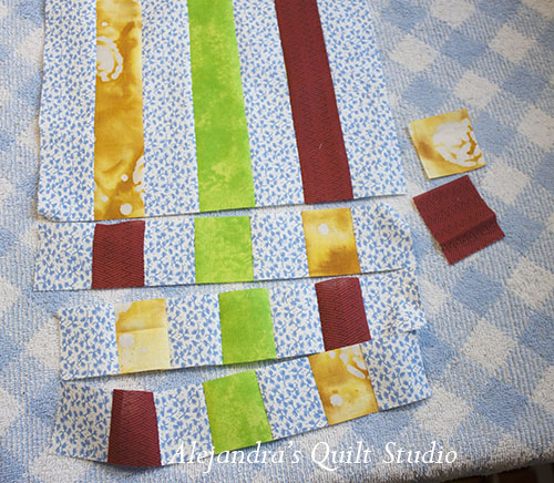 How to make a patchwork bib tutorial