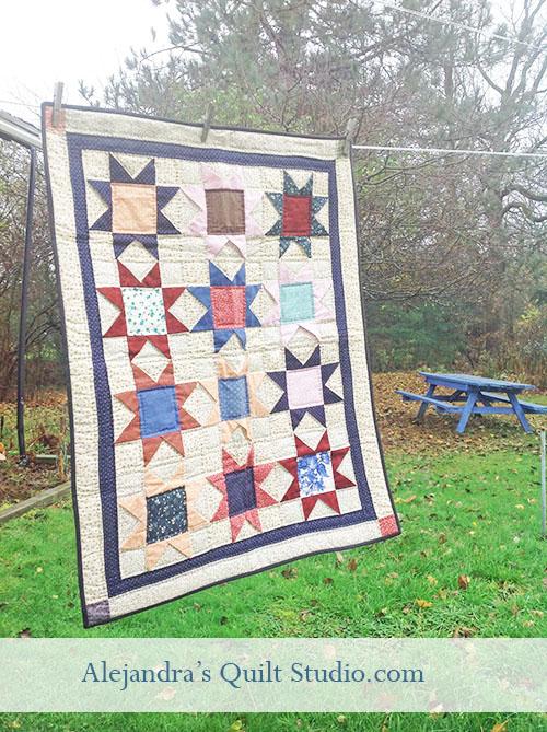 Quilt mini quilt stars