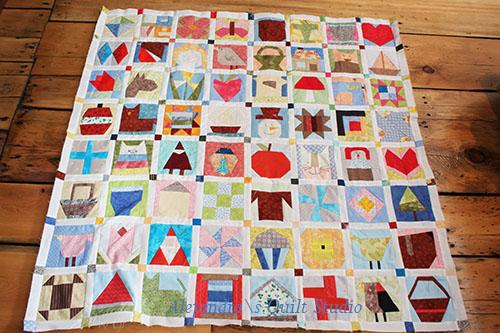 paper piecing quilt y