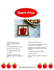 Appel Crisp Recipe