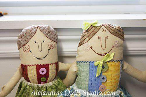 Matilda a rag doll to make