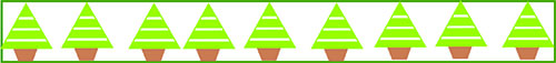 Christmas tree paper piecing pattern