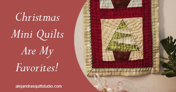 Christmas Mini Quilt