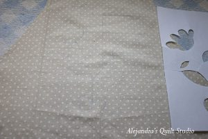 how to applique patchwork