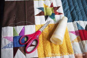 Si el hacer el patchwork es una actividad siempre bella, que al ir uniendo las pequeñas piezas de tela van dando como resultado una obra de arte.