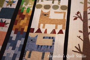 how to hand quilt your big quilt