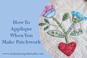 applique patchwork