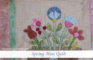 Spring mini quilt