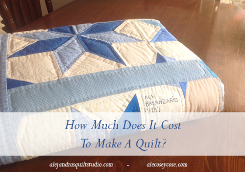 how much does a quilt cost