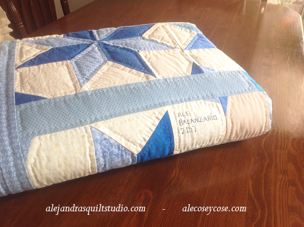 A quilt is a new way to say I love you