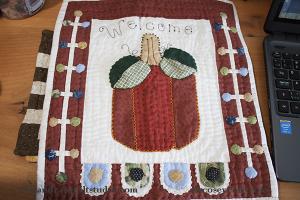 Fall mini quilt