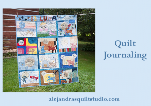 how to make a journal quilt