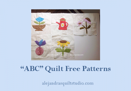ABC quilt free patterns