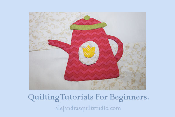 quilting tutorials for beginners