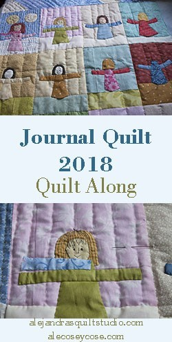 journal quilt 2018 january