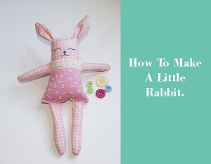 how to make a little rabbit
