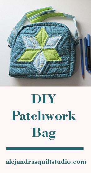 DIY patchwork bag