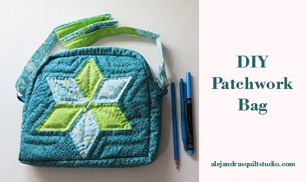 DIY patchwork bag