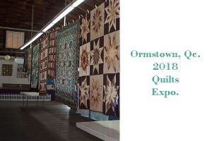 Ormstown Fair Quilts Expo