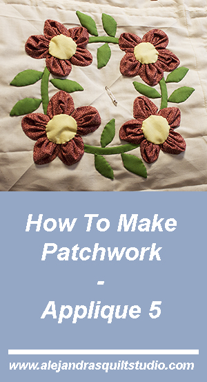 how to make patchwork applique 5 a