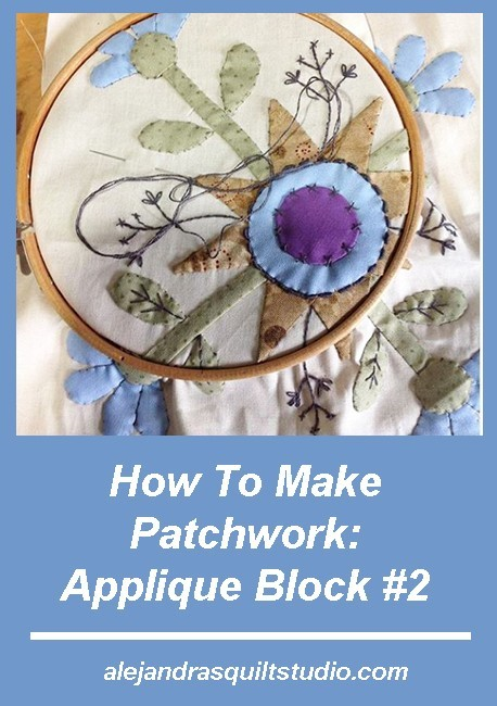 How To Make Patchwork - Applique Block 2