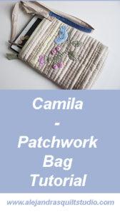 Camila, Patchwork Bag Tutorial