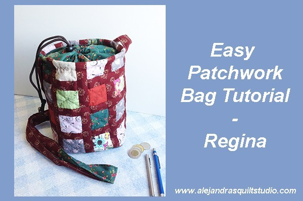 Easy Patchwork Bag - Regina