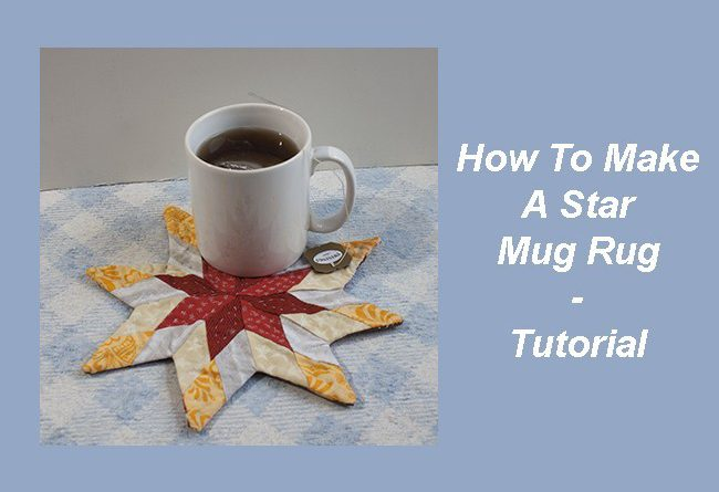 How To Make A Star Mug Rug