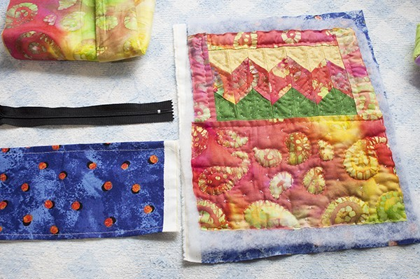 Patchwork Pouch Tutorial