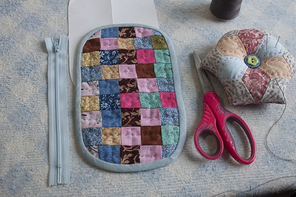 How To Make A Patchwork Purse Coin