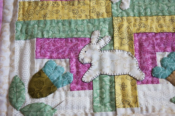 Spring Mini Quilt Tutorial