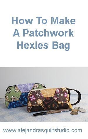 Bolsa Patchwork Hexágonos