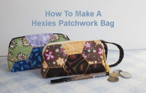 Pathwork Bag Hexies - Patchwork bag