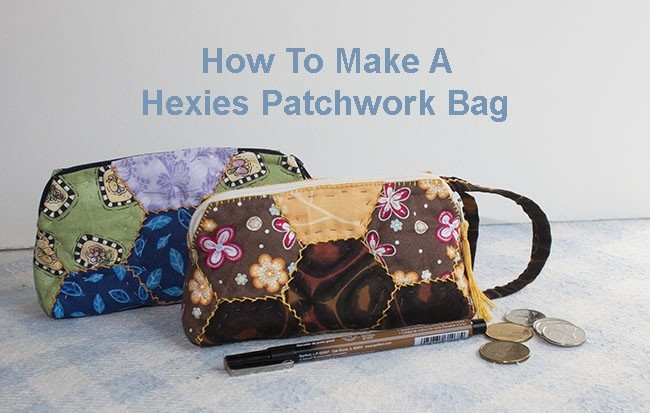 Pathwork Bag Hexies - Patchwork bag