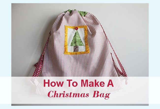 How To Make A Bag Gift For Christmas