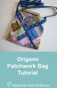 Origami Patchwork Bag Tutorial - Origami Patchwork Bag