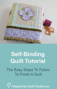 Self Binding Quilt Tutorial