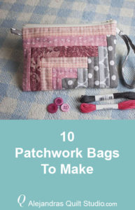 10 Patchwork Bags To Make