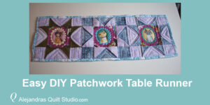 Easy DIY Patchwork Table Runner