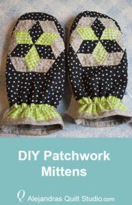 DIY Patchwork Mittens
