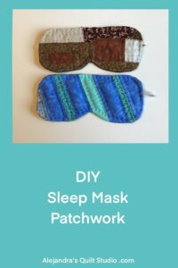 DIY Sleep Mask Patchwork