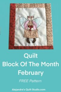 Quilt Block Of The Month February