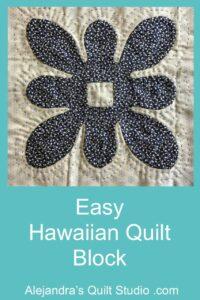 Easy Hawaiian Quilt Block