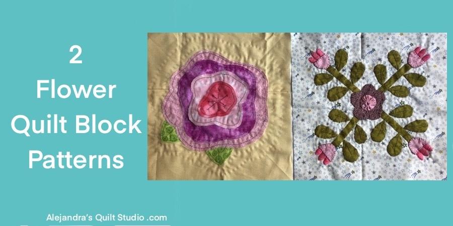 Flower Quilt Block Patterns